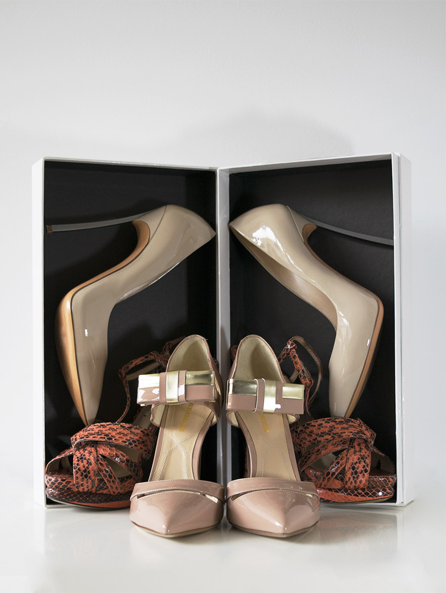 How To Organize Your Wardrobe - Shoes Display