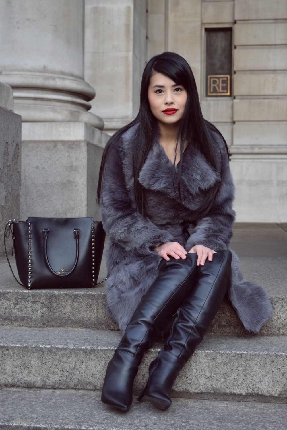 DIY Shearling Fur Coat